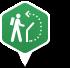 Area map walking trail 2x