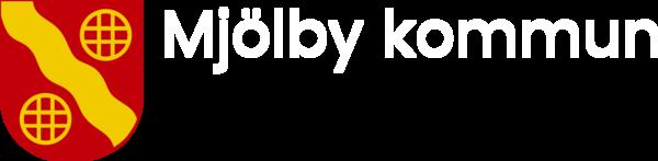 Mjolby logo 4f vit