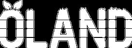 Oland logo white